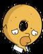 Homer Donut Triste