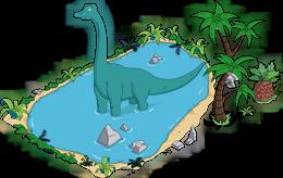 Lac aux dinosaures