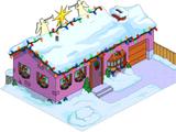 Maison des Van Houten de Noël