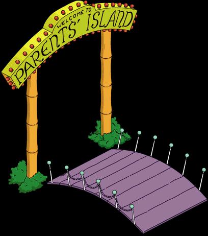 Entrée de l'île des parents