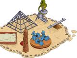 Aire de jeu égyptienne