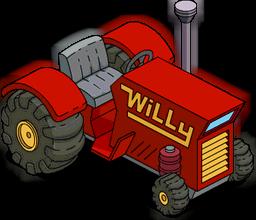Tracteur de Willie