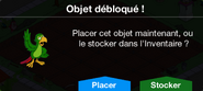 Perroquet blagueur Déblo