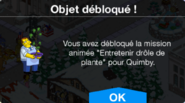 Mission Quimby Plus d'excuses