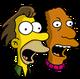 Lenny et Carl Claironnant