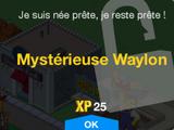 Mystérieuse Waylon