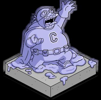 Statue en résine du Collectionneur