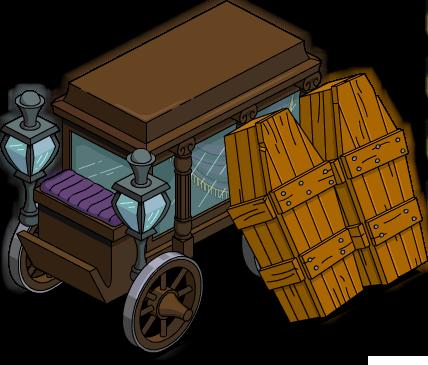 Chariot de croque-mort