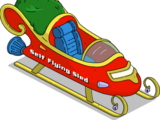 Traîneau volant