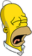 Homer Retraité Peiné