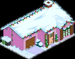 Maison rose de Noël.png
