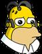 Homer Anime Triste