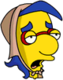 Lady Milhouse Exténué