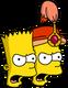 Bart et Prince Gautama Colère