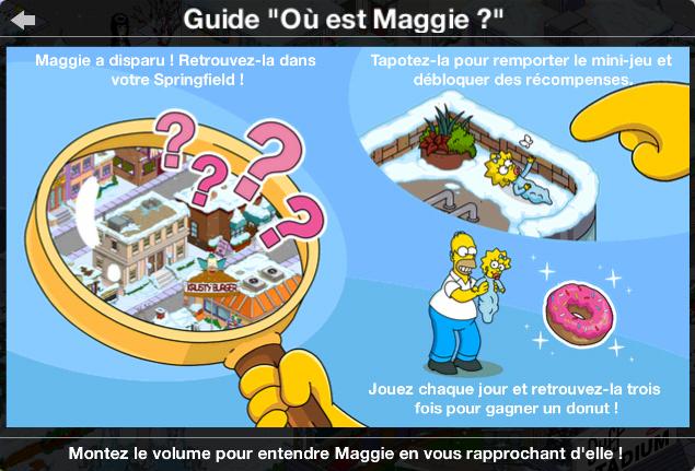Où est Maggie ?