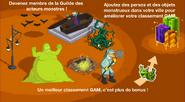 Guide Guilde des acteurs monstres