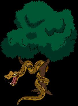 Serpent géant arboricole