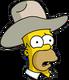 HomerCowboy Confus