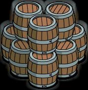 Barriques en bois (groupe)