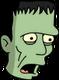 Monstre de Frankenstein Surpris
