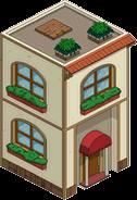 Bâtiment latéral classique