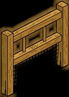 Barrière structure de jeu
