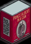 Boîte Prince Albert grandeur nature