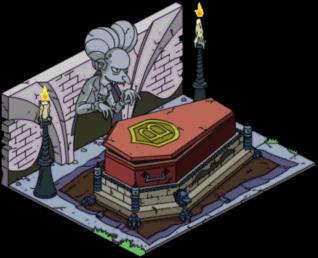 Cercueil de Burns
