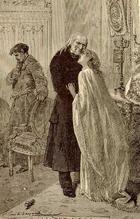 Cosette wedding illustration