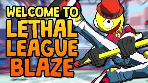 Welcome to Lethal League Blaze