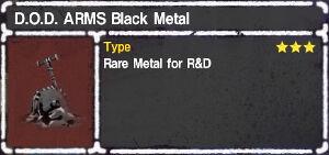 D.O.D. ARMS Black Metal.jpg