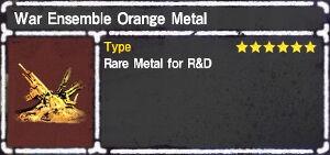 War Ensemble Orange Metal.jpg