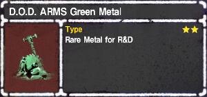 D.O.D. ARMS Green Metal.jpg