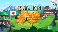 Robo Kid Title Card