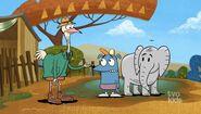 ESO Leo and the elephant