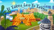 It Takes Leo To Tango Title Card