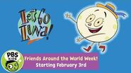Let's Go Luna! Celebrate Friends Around the World Week With Luna! PBS KIDS