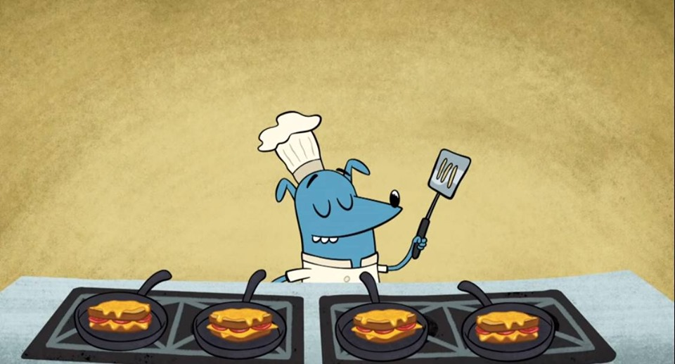 Chef Leo making Grilled Cheese Sandwich (Cooking Food Song).jpg
