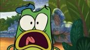 Let's Go Luna Monster Park-Andy Scared