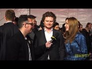 Nathan Dales & Michelle Mylett on the 2017 JUNO Awards Red Carpet