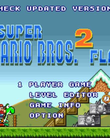 super mario flash 2 level editor game