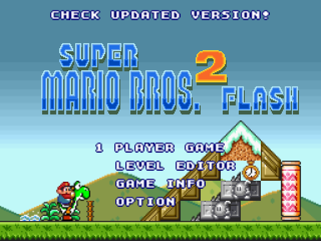 super mario games flash 2