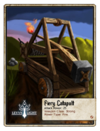 Fiery Catapult