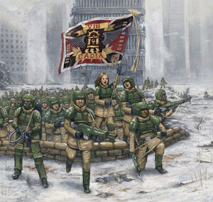 Charging of 8th Cadia Regiment by lathander1987.jpg