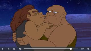 Wal and Loo kiss.png