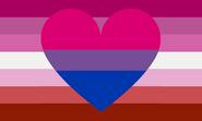 Original Bi-romantic flag