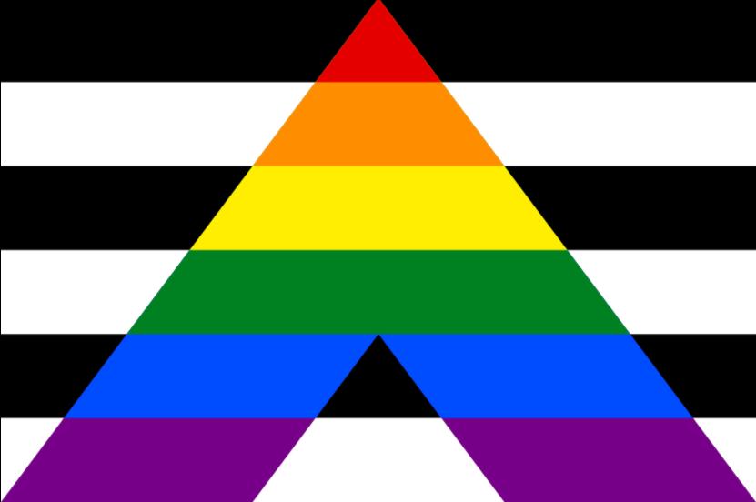 Straight ally