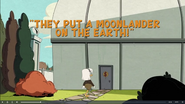 They Put a Moonlander on the Earth