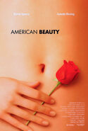 American Beauty 1999 film poster