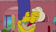 Marge Kisses Lindsey